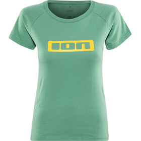 ION Logo T-shirt Femme, sea green